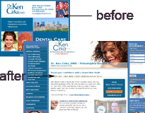 phillydentistry.com case study