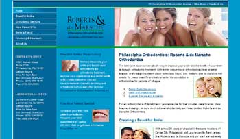 philadelphiaorthodontists.com after redesign